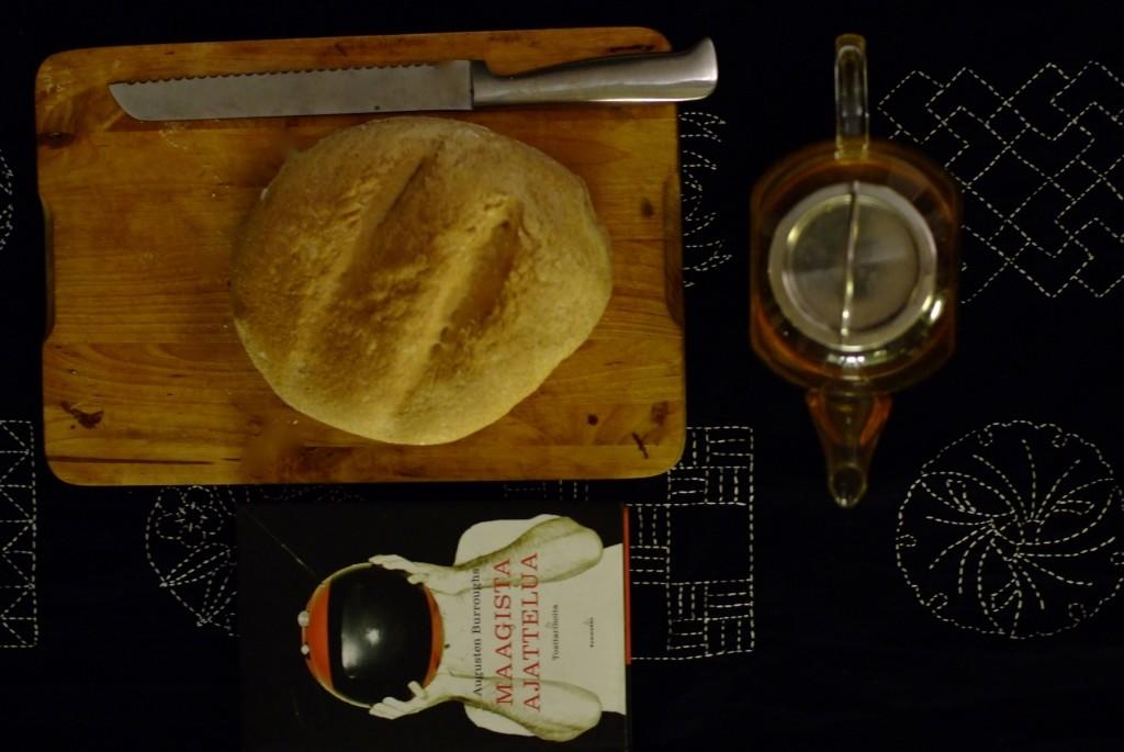 Ensin ruoka on itse viljelty, sitten kotona itse valmistettu. Se on siistiä.